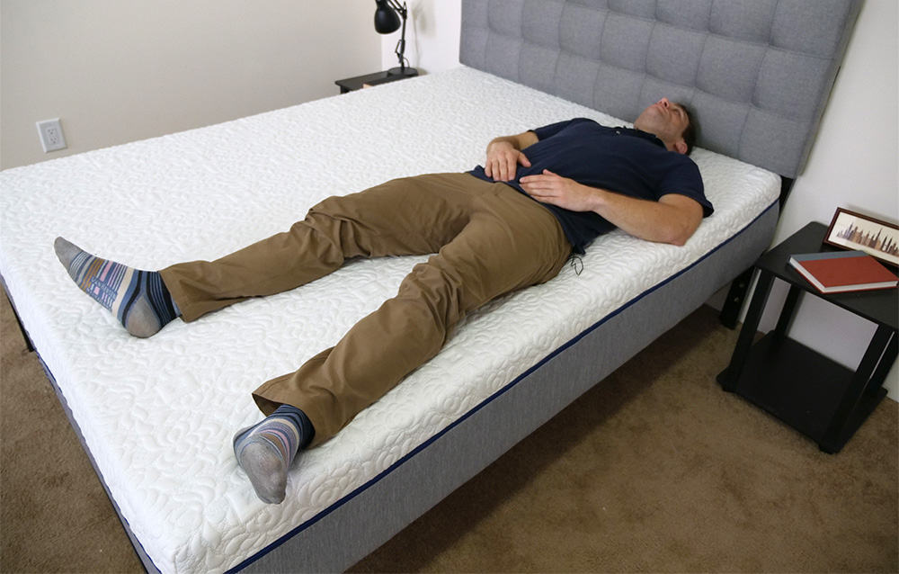 Novosbed Mattress Laying