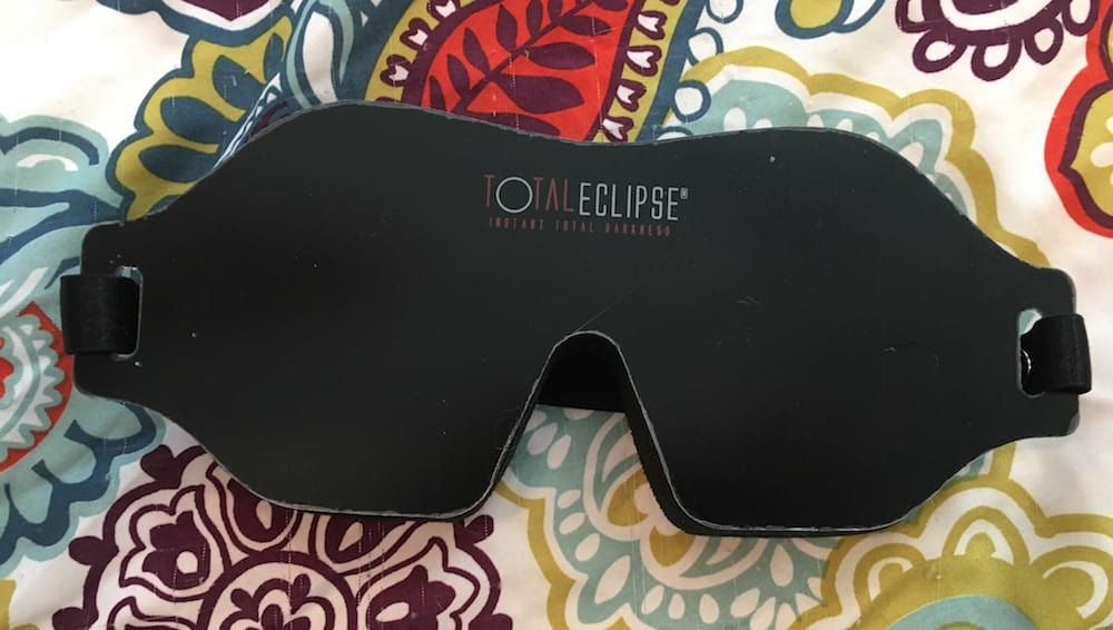 Total Eclipse Sleep Mask Review
