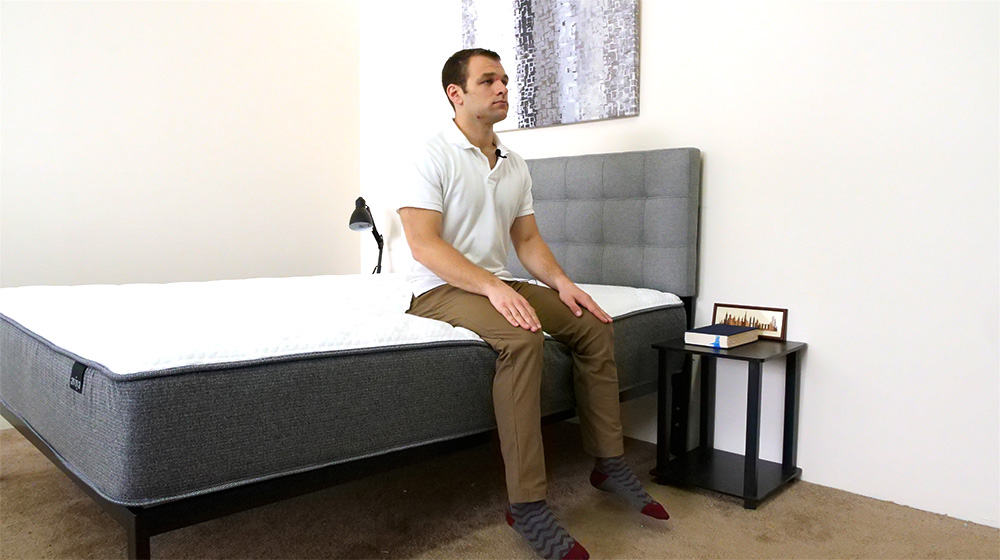 Aviya Mattress Edge Support Seated