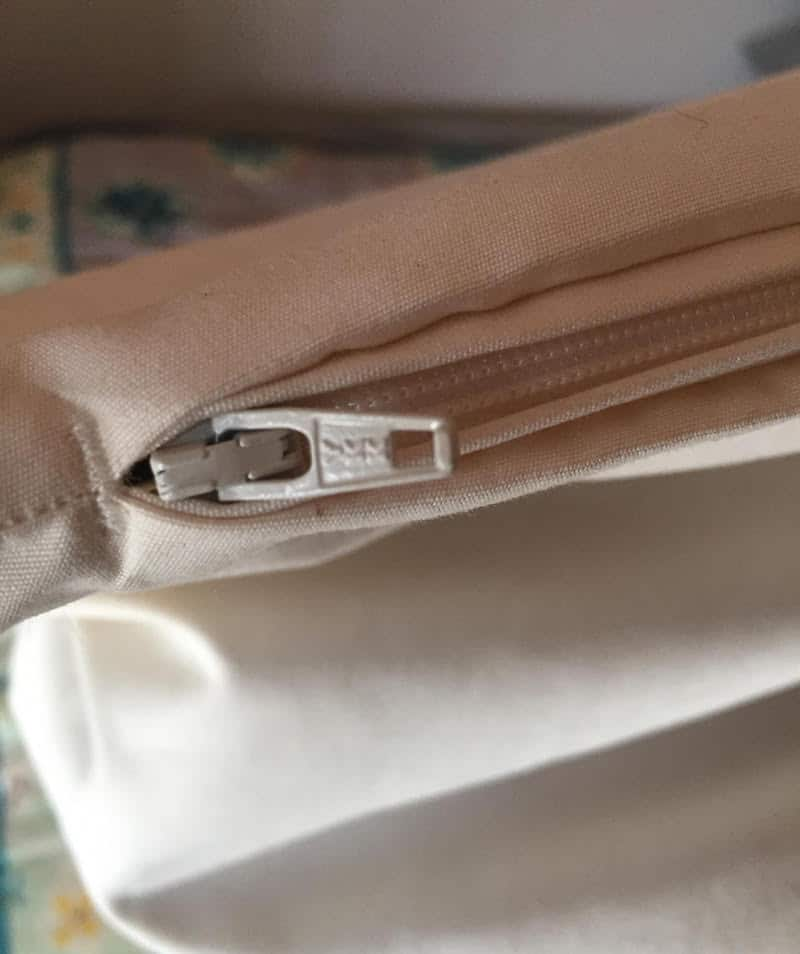 Magnolia Organics Buckwheat Pillow Zipper