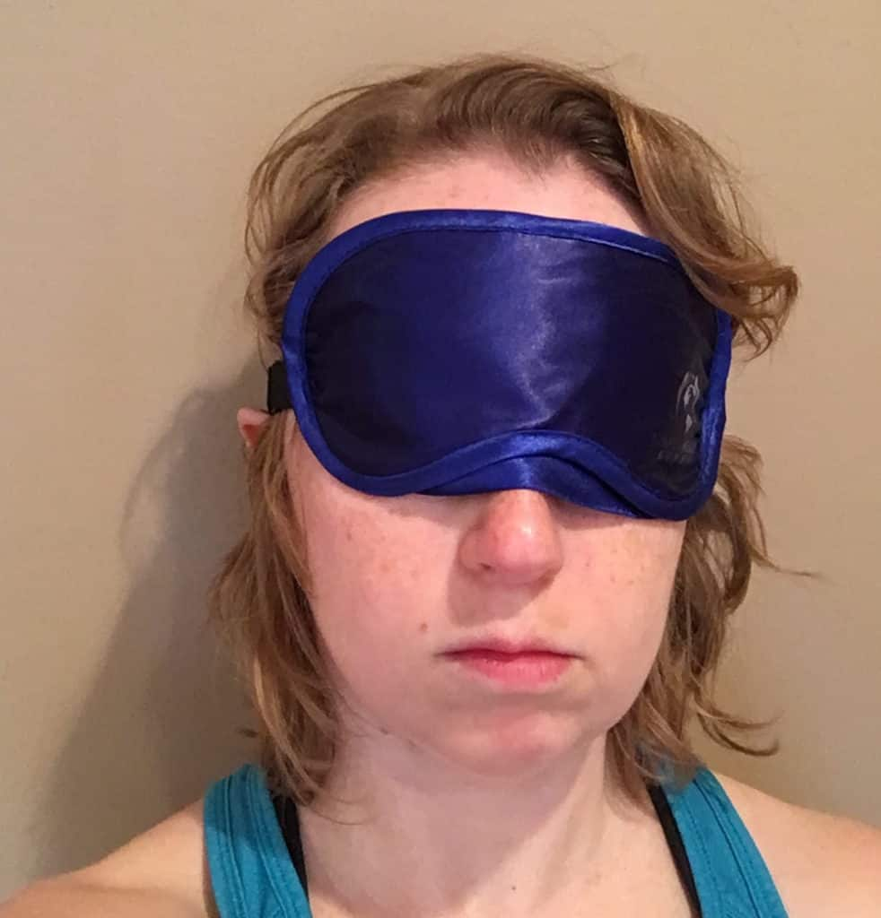 Simple Health Sleeping Eye Mask Wearing