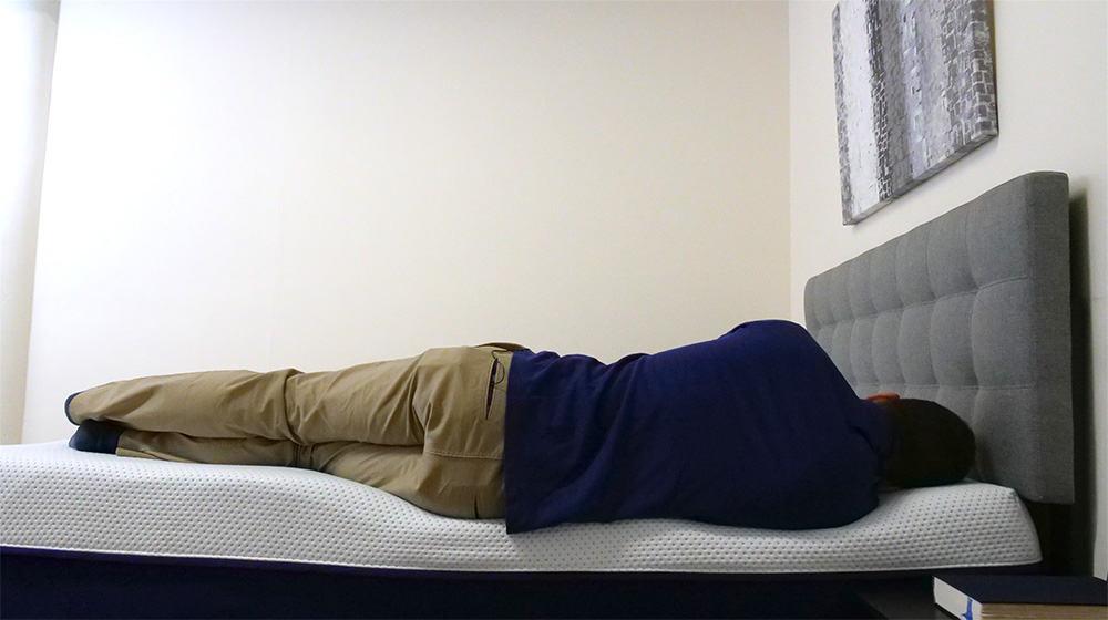 Side sleeping on the Amerisleep AS3 mattress