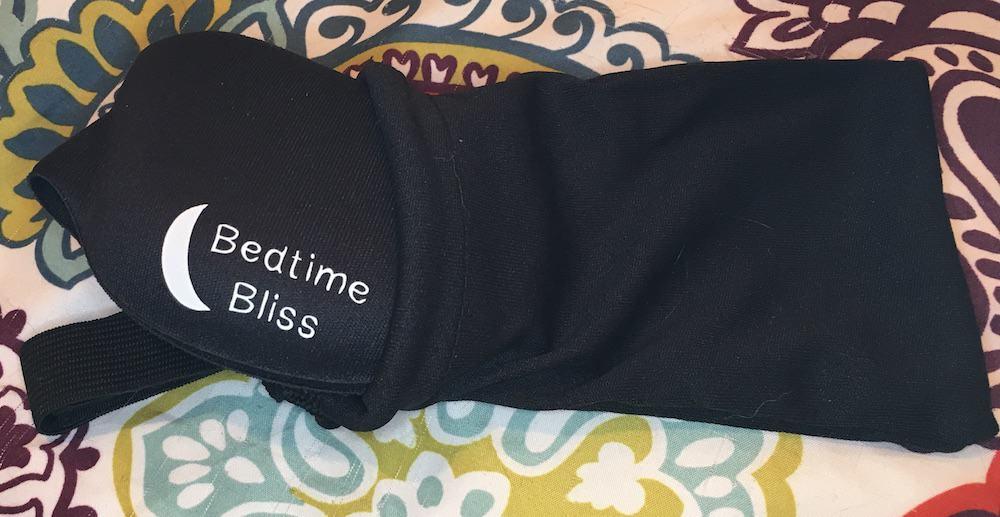BedtimeBlissSleepMaskCarryingCase Bedtime Bliss Sleep Mask Review