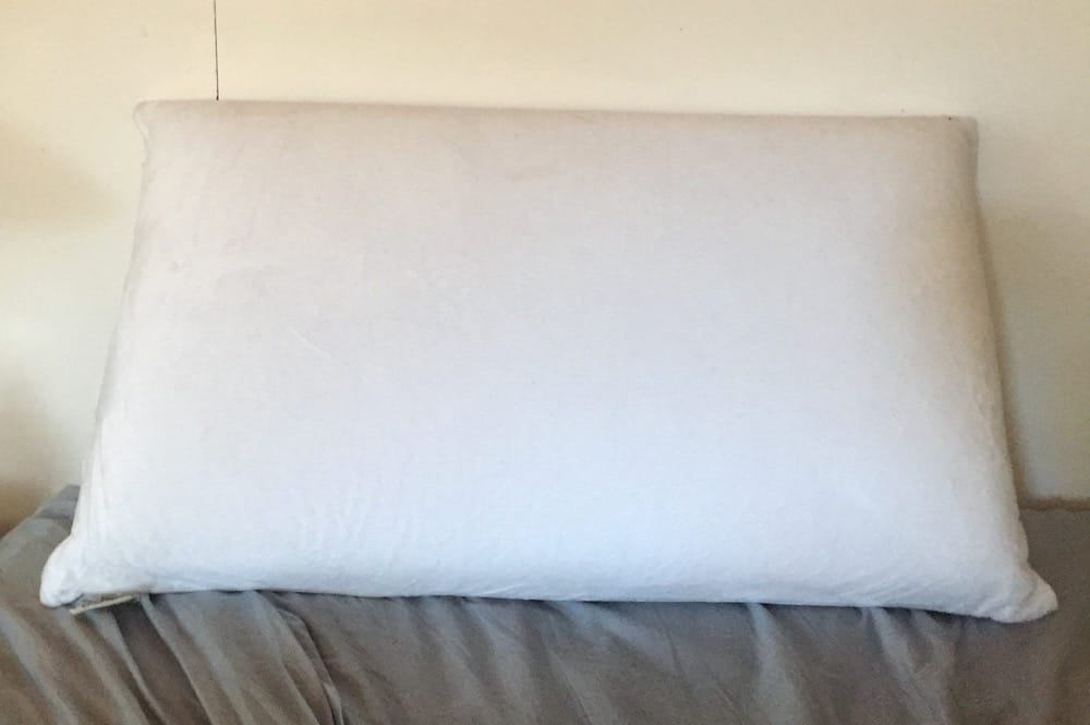 Conforma Memory Foam Pillow On Bed