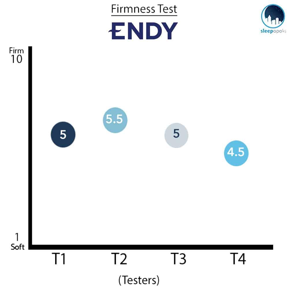 Endy Firmness Graph