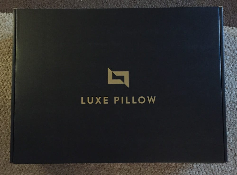 Luxe Down and Feather Pillow Box