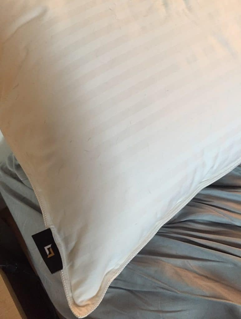 Luxe Down Pillow Tag