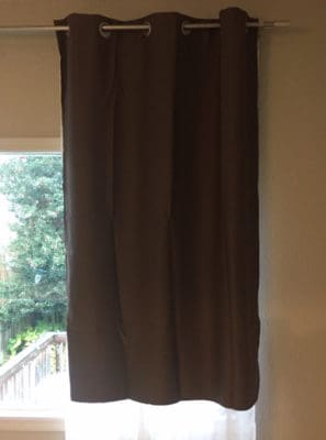 Nicetown Thermal Blackout Curtains Window
