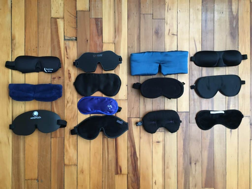 all 13 sleep masks reviewed for Sleepopolis