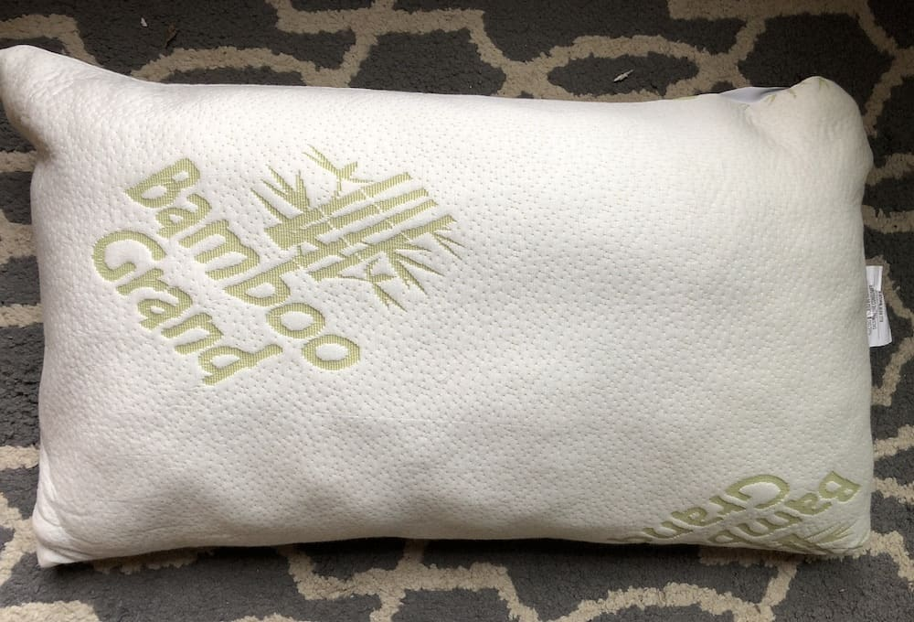 bamboo grand memory foam pillow review With bamboo grand pillow