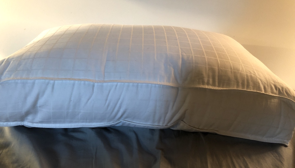 Beyond Down Gel Fiber Side Sleeper Pillow Height