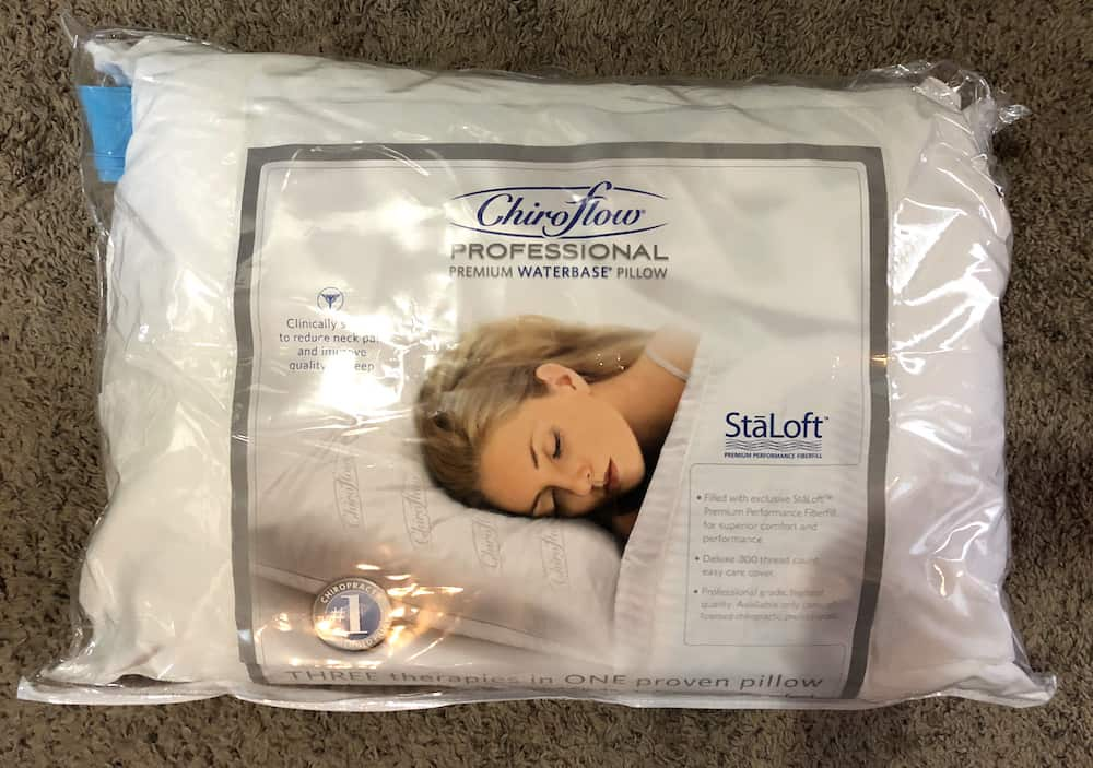 Chiroflow Premium Water Pillow Review Sleepopolis