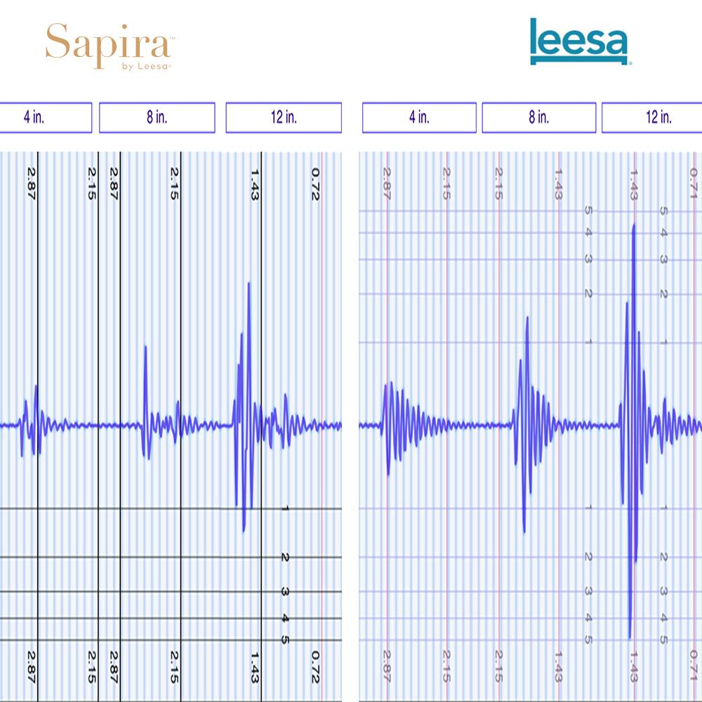 Leesa vs Sapira Motion Transfer