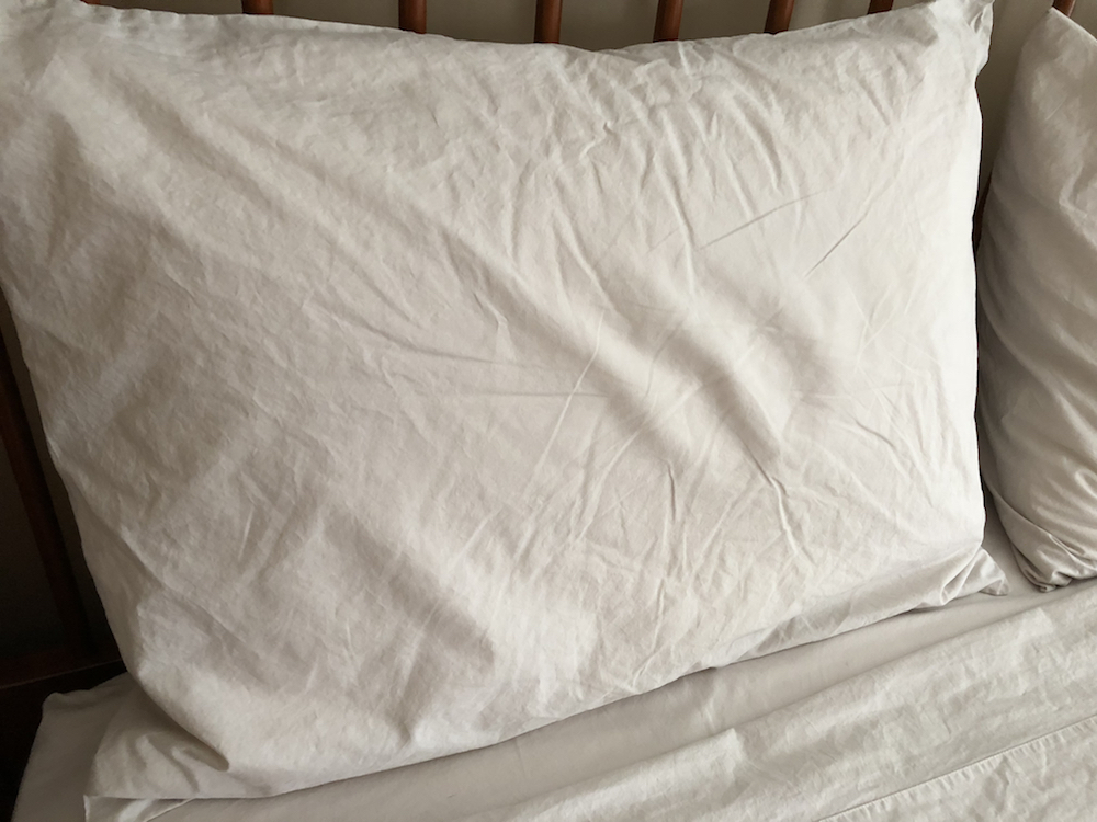 parachute percale pillowcase front