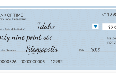 How Much Sleep Debt Are You Owed?