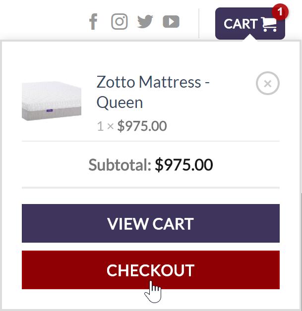 Zotto Checkout
