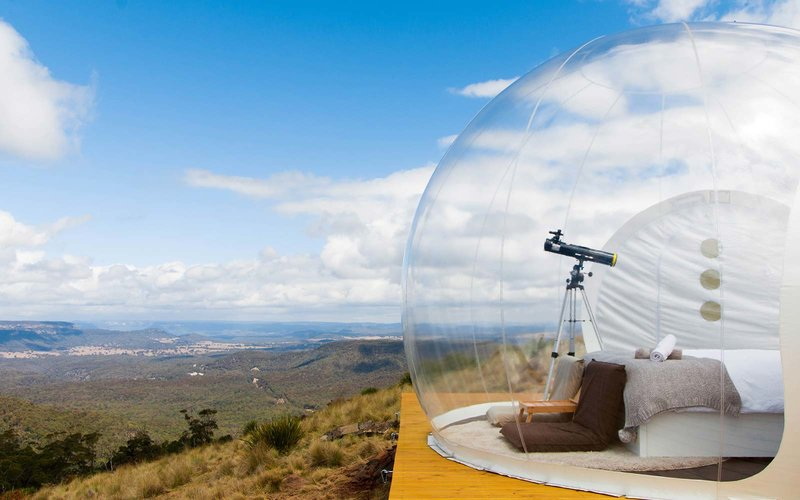 bubbletent The 3 Craziest Places to Sleep in 2018