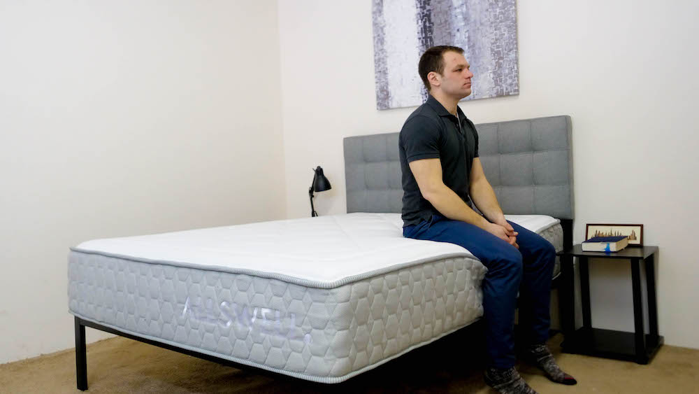 Allswell Luxe Hybrid mattress edge support