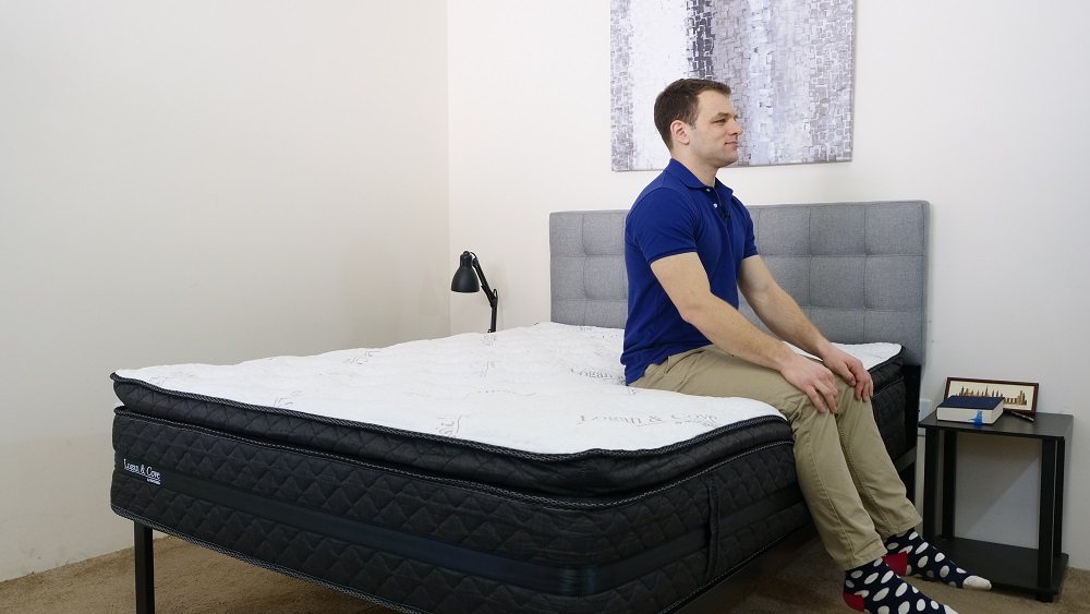 Logan-and-Cove-Edge-Seated Logan and Cove Mattress Review