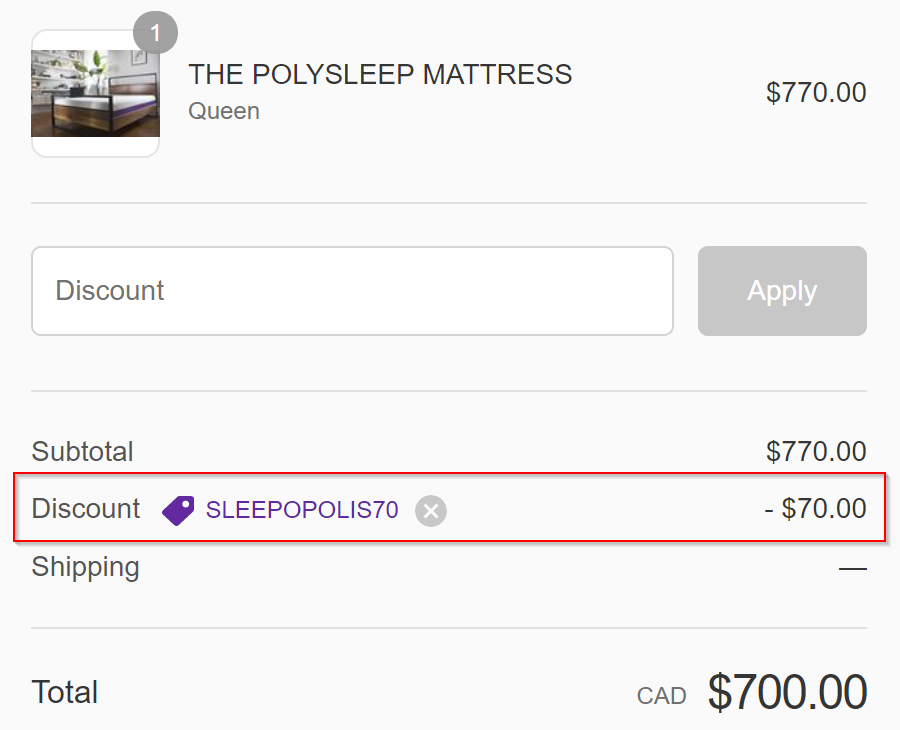 Polysleep Save
