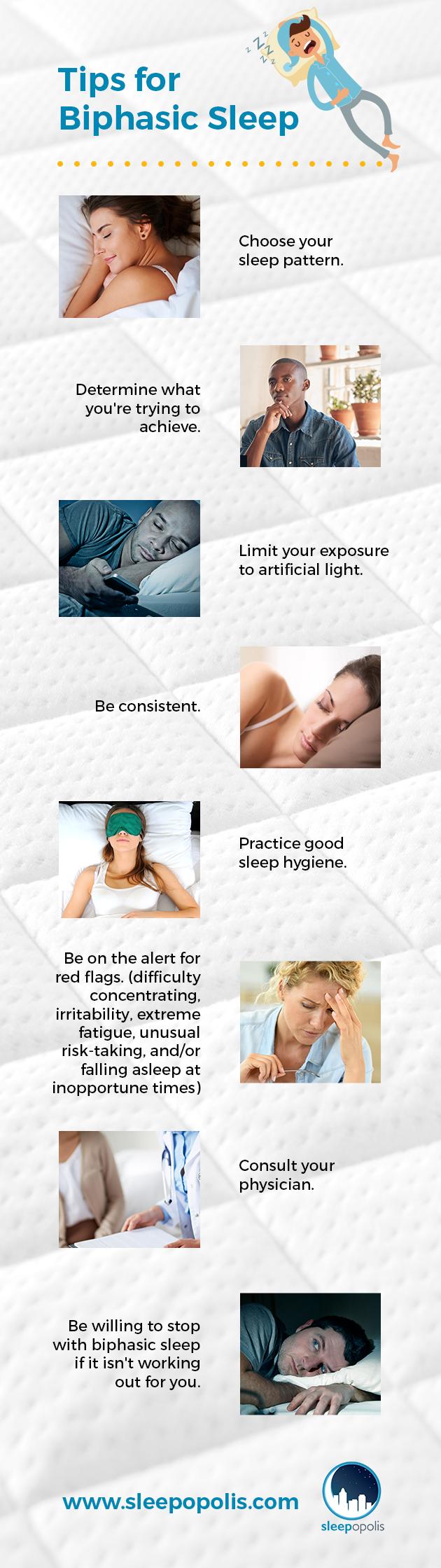 Tips for Biphasic Sleep