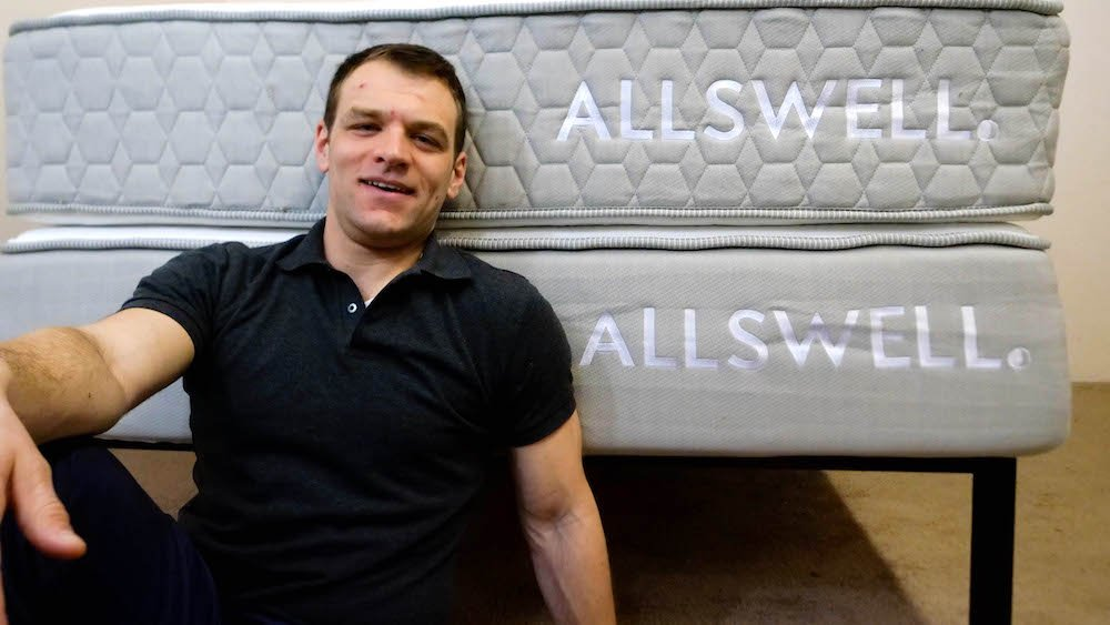 Allswell Luxe Hybrid mattress soft or firm