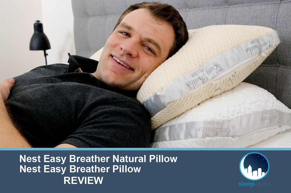 Nest Easy Breather Pillow Review Memory Foam Or Natural