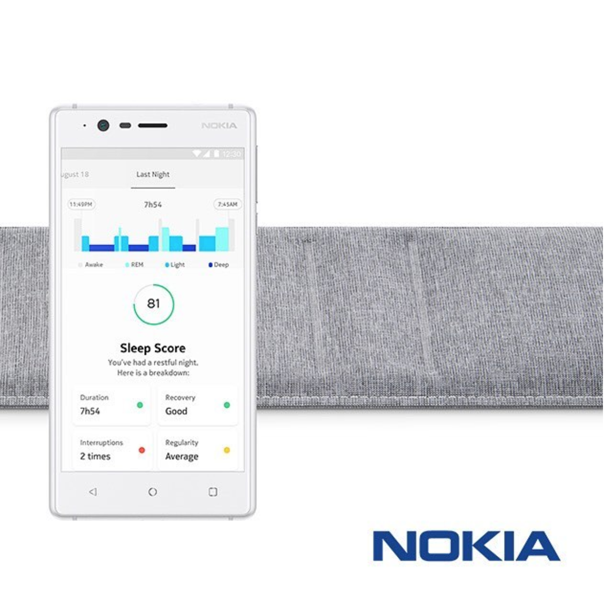 Electronics Giant Nokia Launches Sleep Tracking Pad