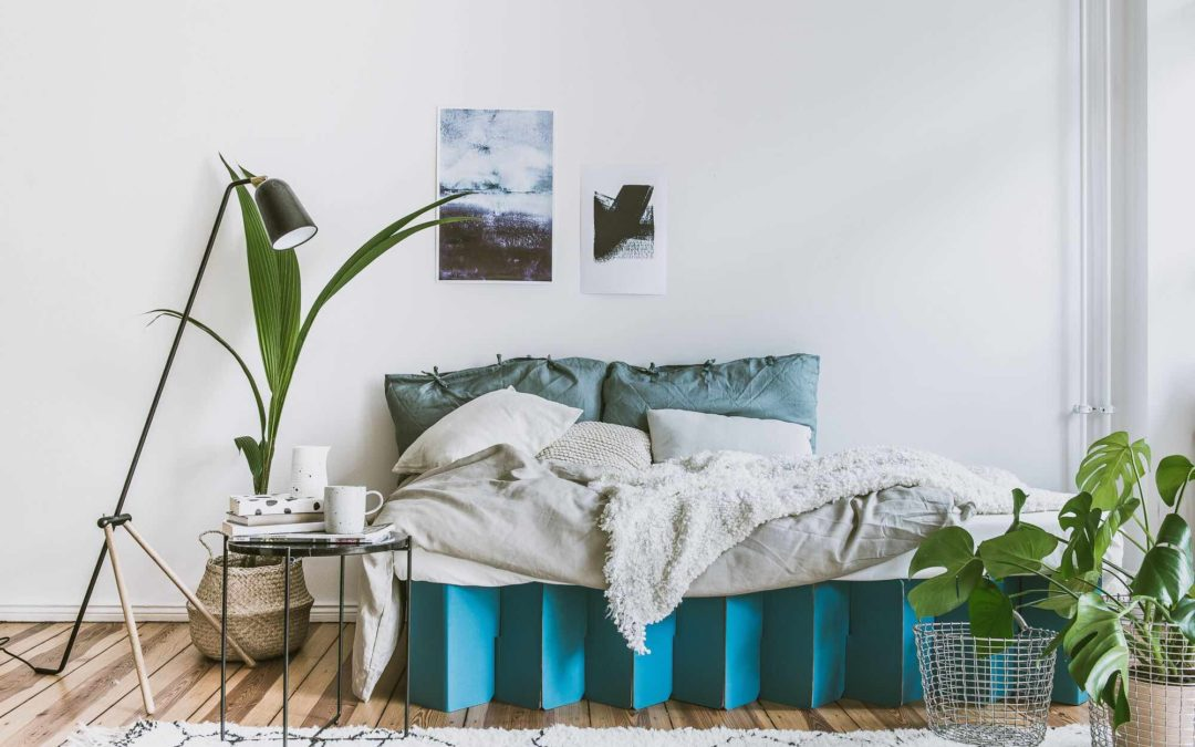 Happy Beds Goes Green With 100% Cardboard Bed Frame