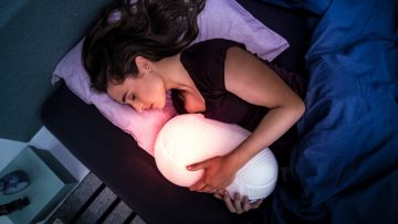 Need Some Zzz's? Consider Cuddling with a Sleep Robot