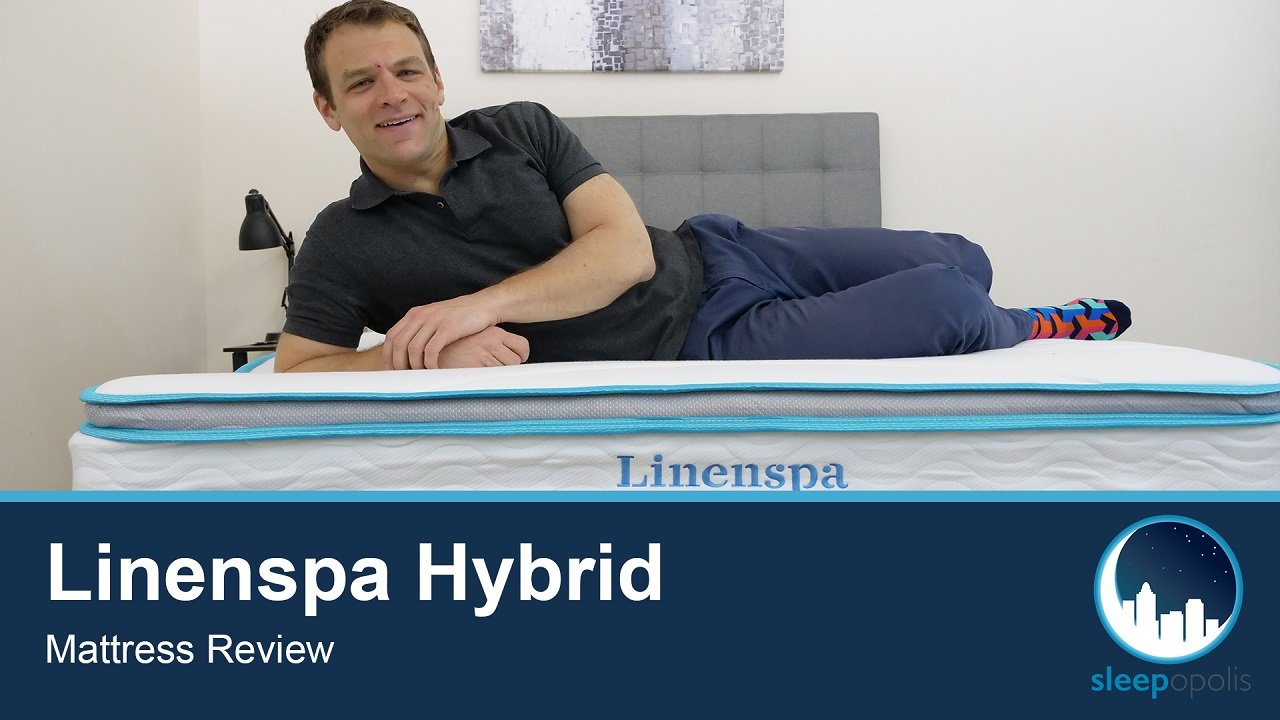 Linenspa Hybrid Mattress Review Comfortable Bed At A Value Price