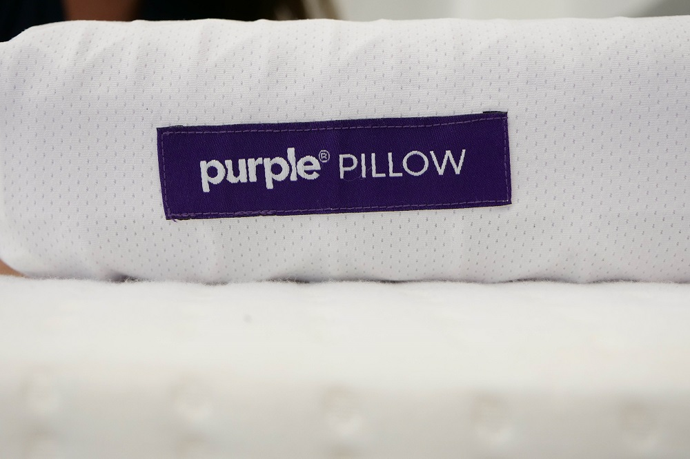 Purple Pillow Tag
