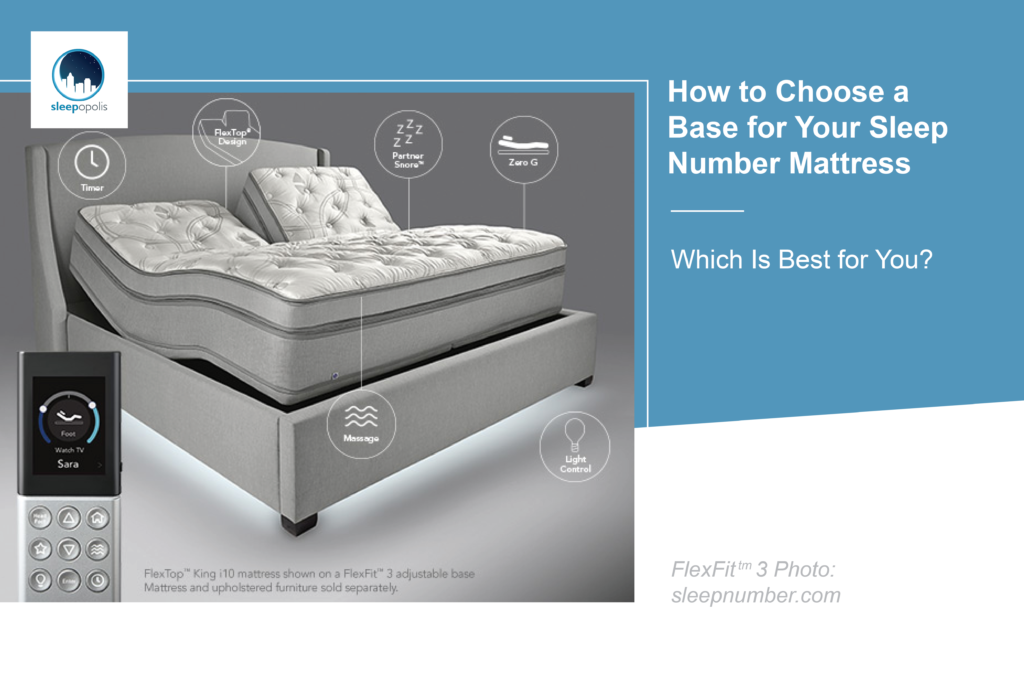 How To Choose A Base For Your Sleep Number Mattress