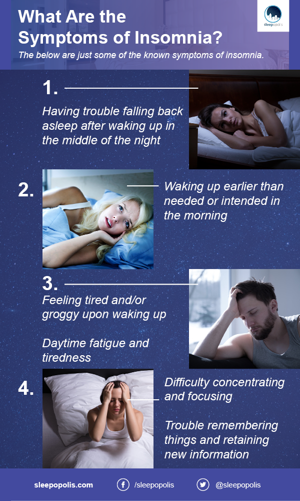 What Are the Symptoms of Insomnia