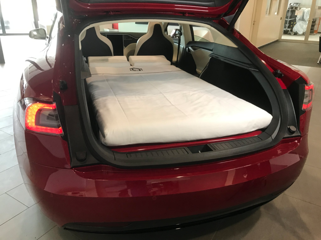 Tempurpedic Mattress Reviews >> Tesla Introduces a New Bed-in-a-Box... For Your Car ...