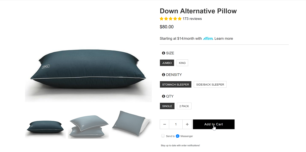 Pillow Guy Add to Cart