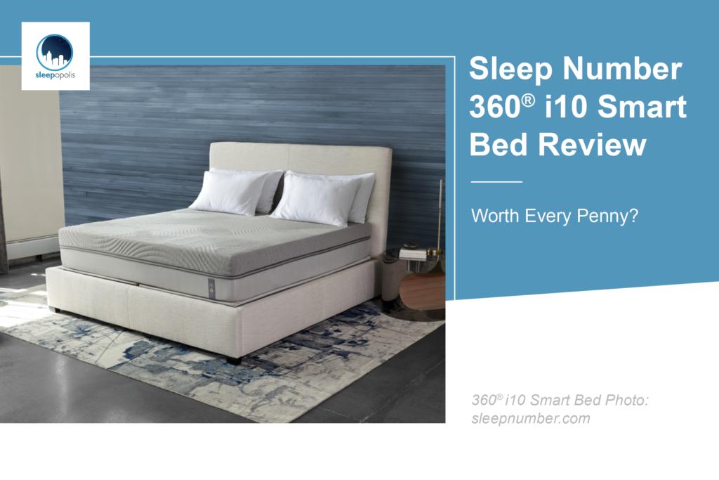 Sleep Number Bed Vs Tempurpedic >> Sleep Number 360® i10 Smart Bed Review | Sleepopolis
