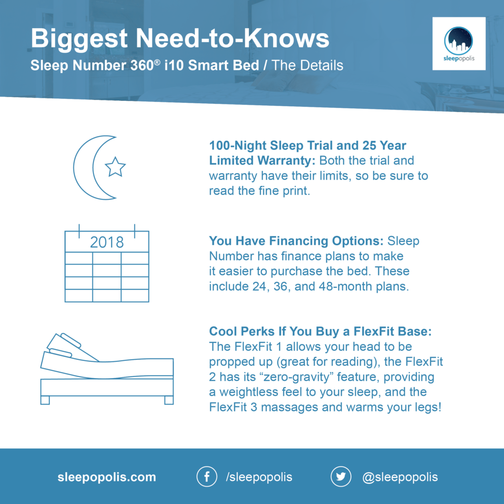 Sleep Number features