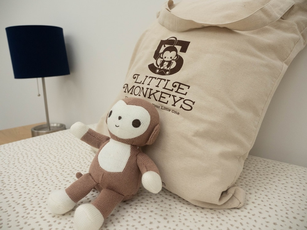 5 Little Monkeys mattress bundle close up