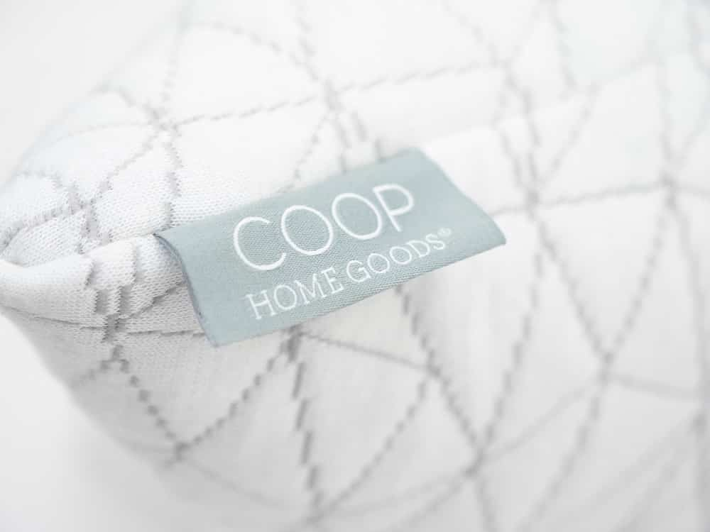 Coop Body Pillow Tag