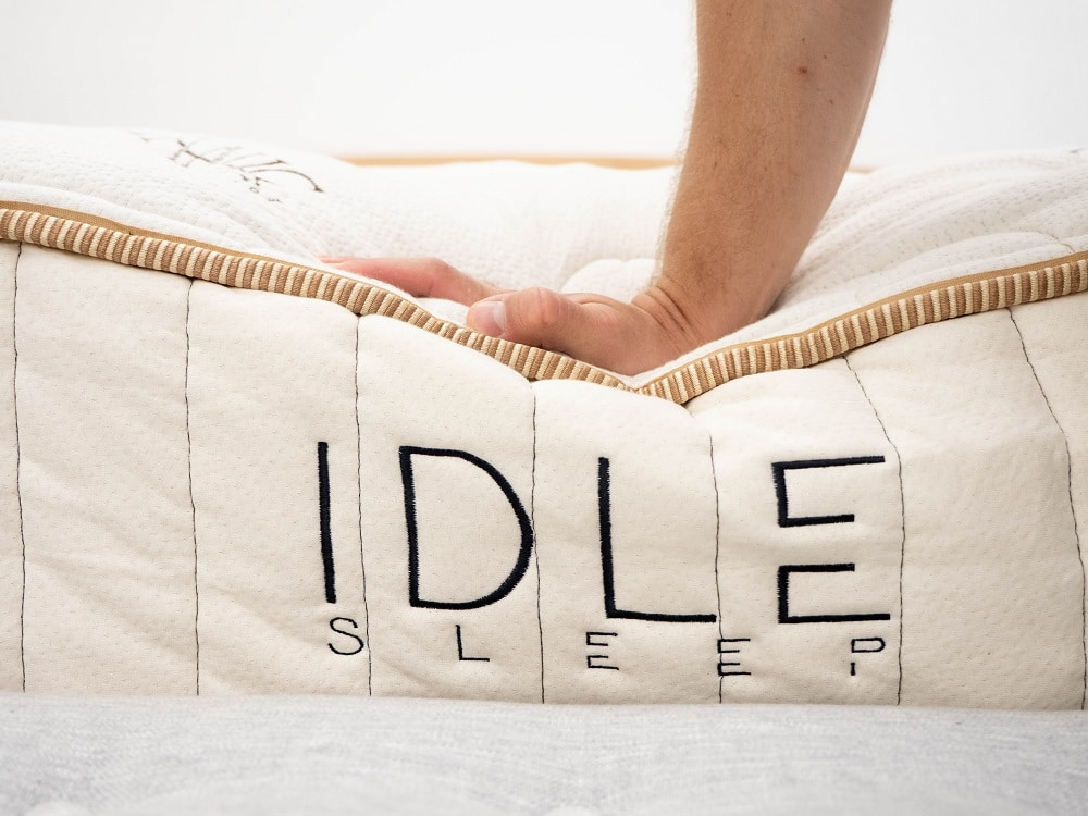 Idle-Hand-Press IDLE Sleep Latex Bed Review