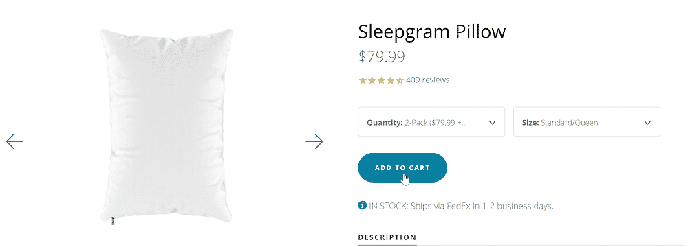 Sleepgram ADD TO CART