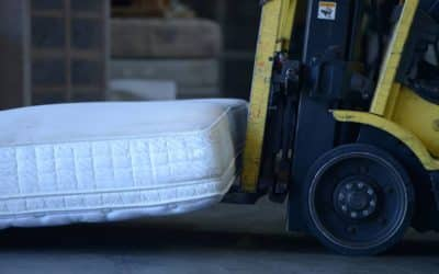 Inside the Topsy-Turvy World of Mattress Recycling