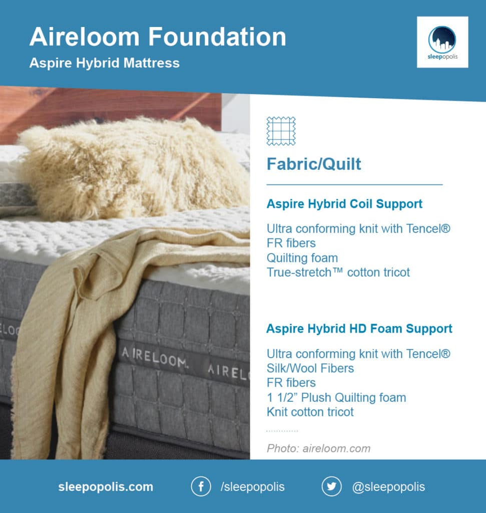 Aireloom foundation mattress qualities