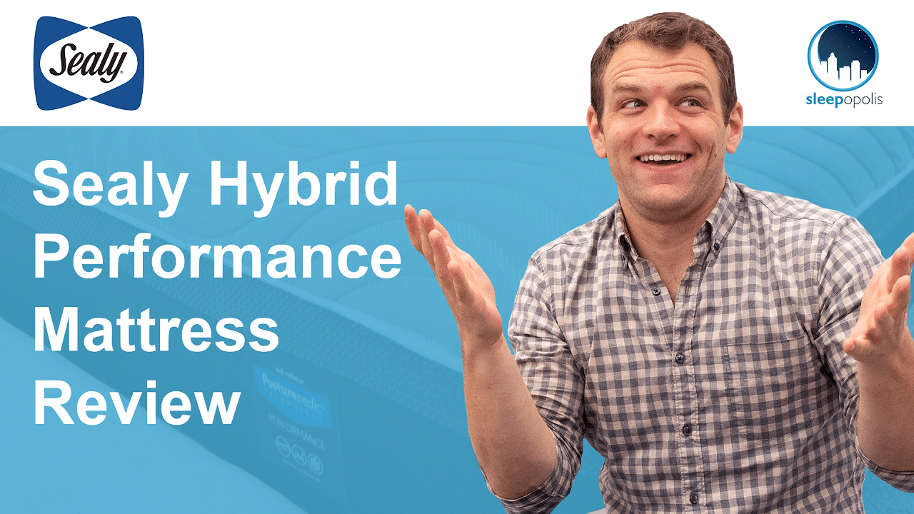 Sealy Hybrid Performance Mattress Review Is The Copper Ii Or Kelburn For You