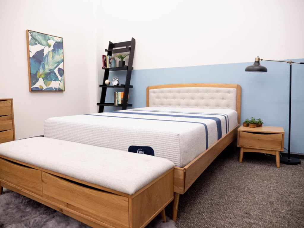 Serta iComfort Blue in bedroom