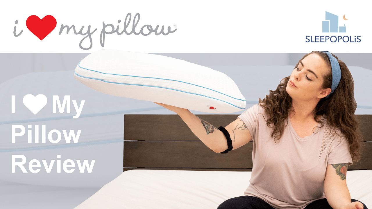 7444460e4f I Love My Pillow Review - Will A Memory Foam Pillow Help You Sleep