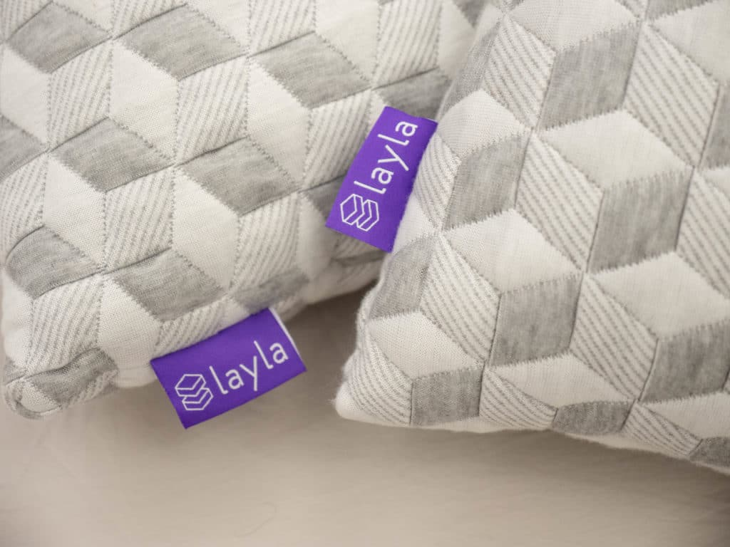 Layla Pillow Tags