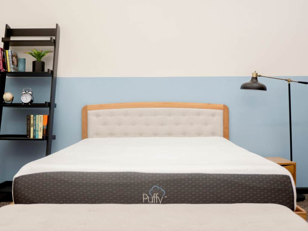 Puffy Mattress Review How Much Memory Foam For Pressure