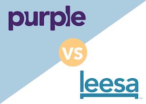 Purple vs Leesa